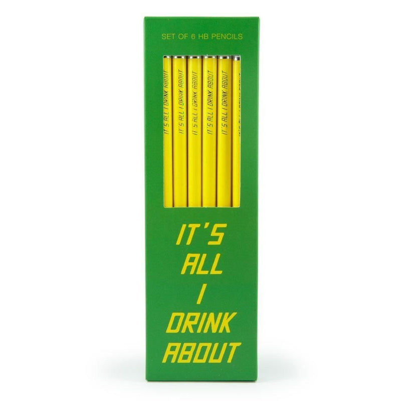 All I Drink About Pencils