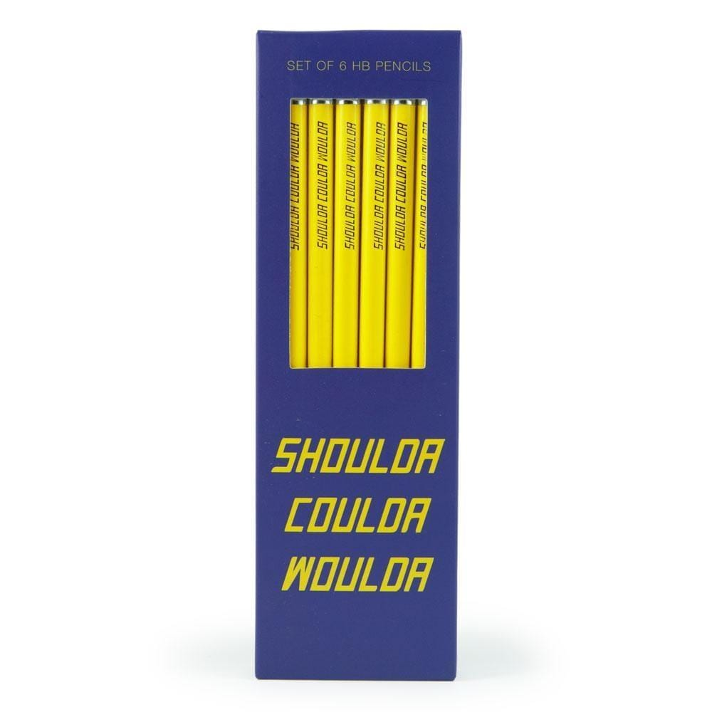 Shoulda Coulda Woulda Pencils