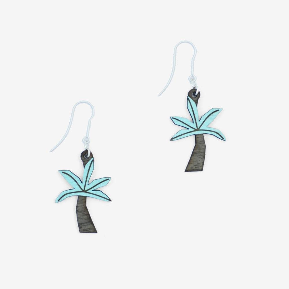 Palmtree Hook Earrings