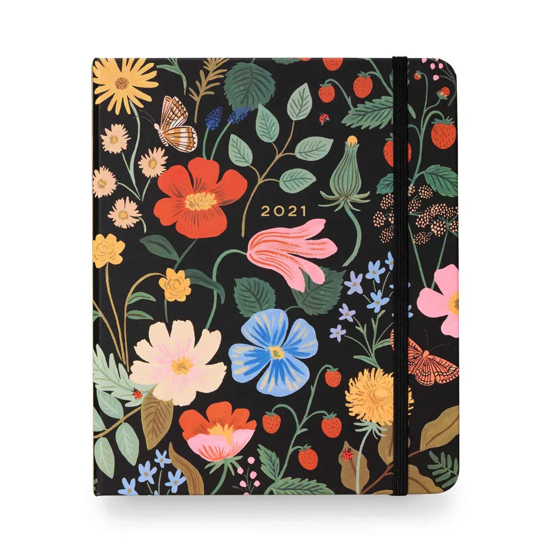 2021 Strawberry Fields Month Diary Planner