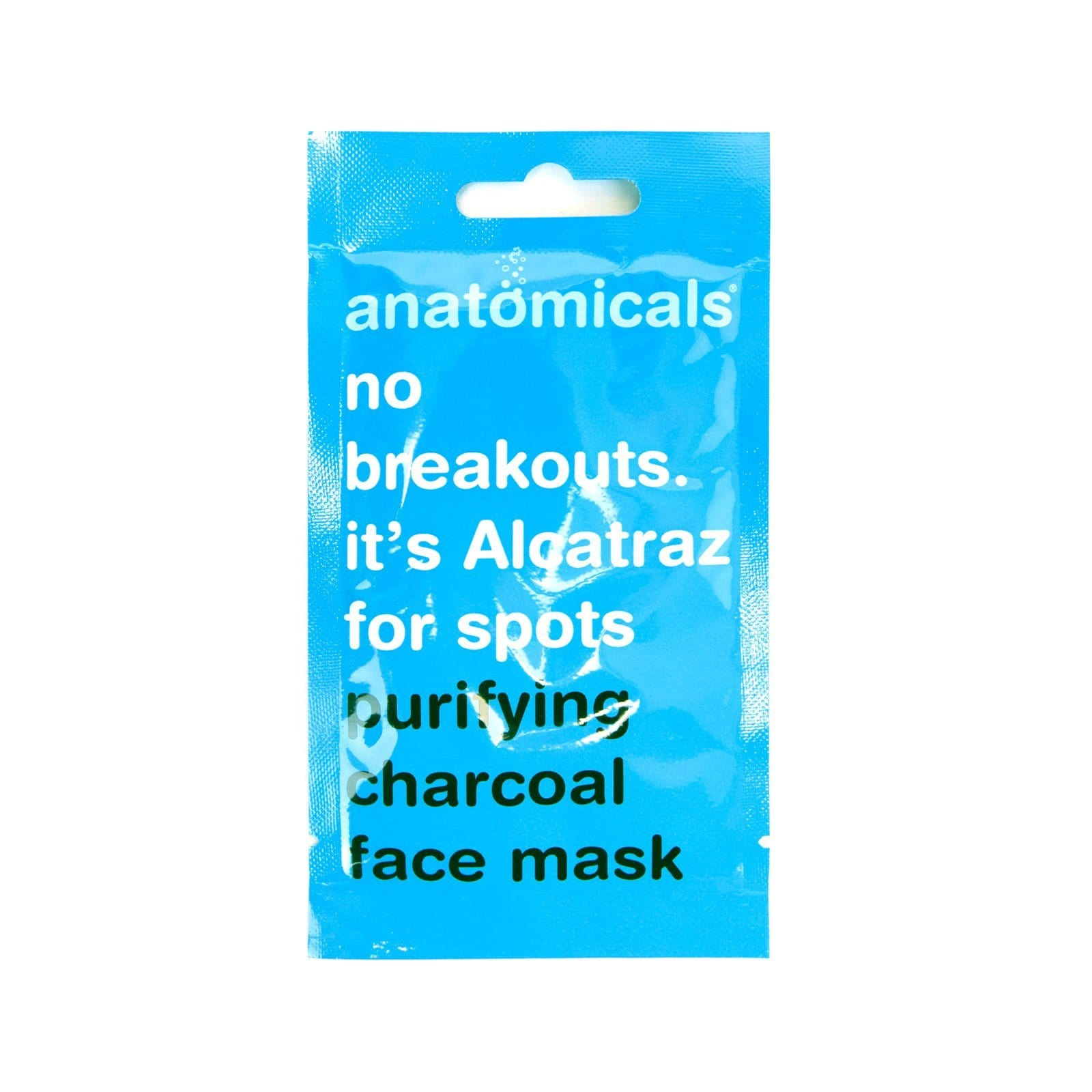 No Breakouts. It's Alcatraz for Spots Face Mask