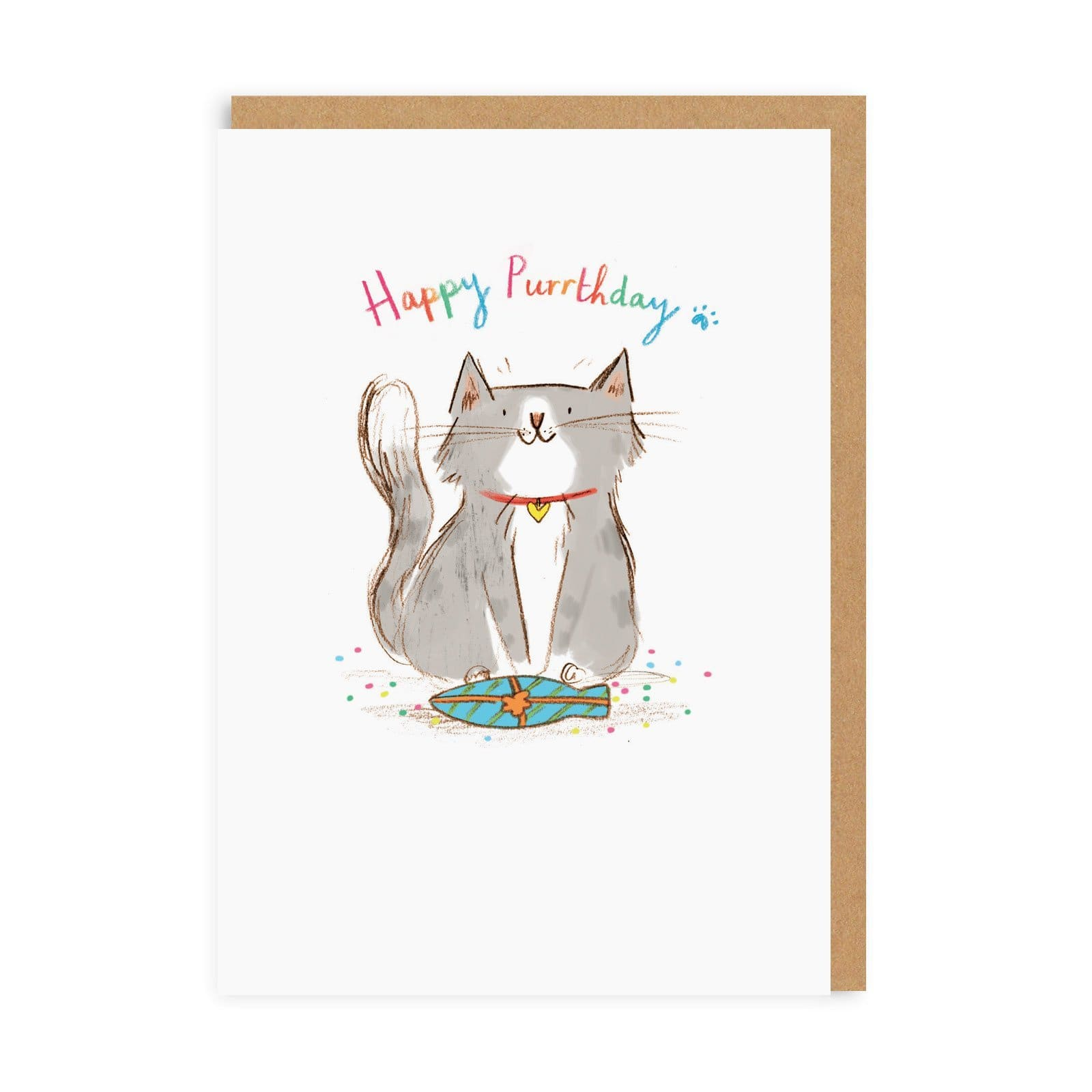 Happy Purthday Greeting Card