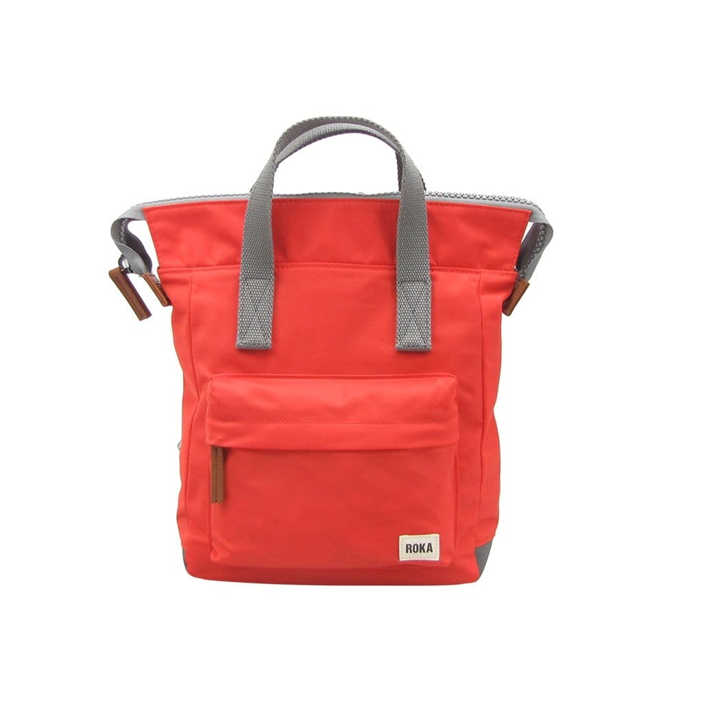 ROKA Small Orange Sustainable Backpack