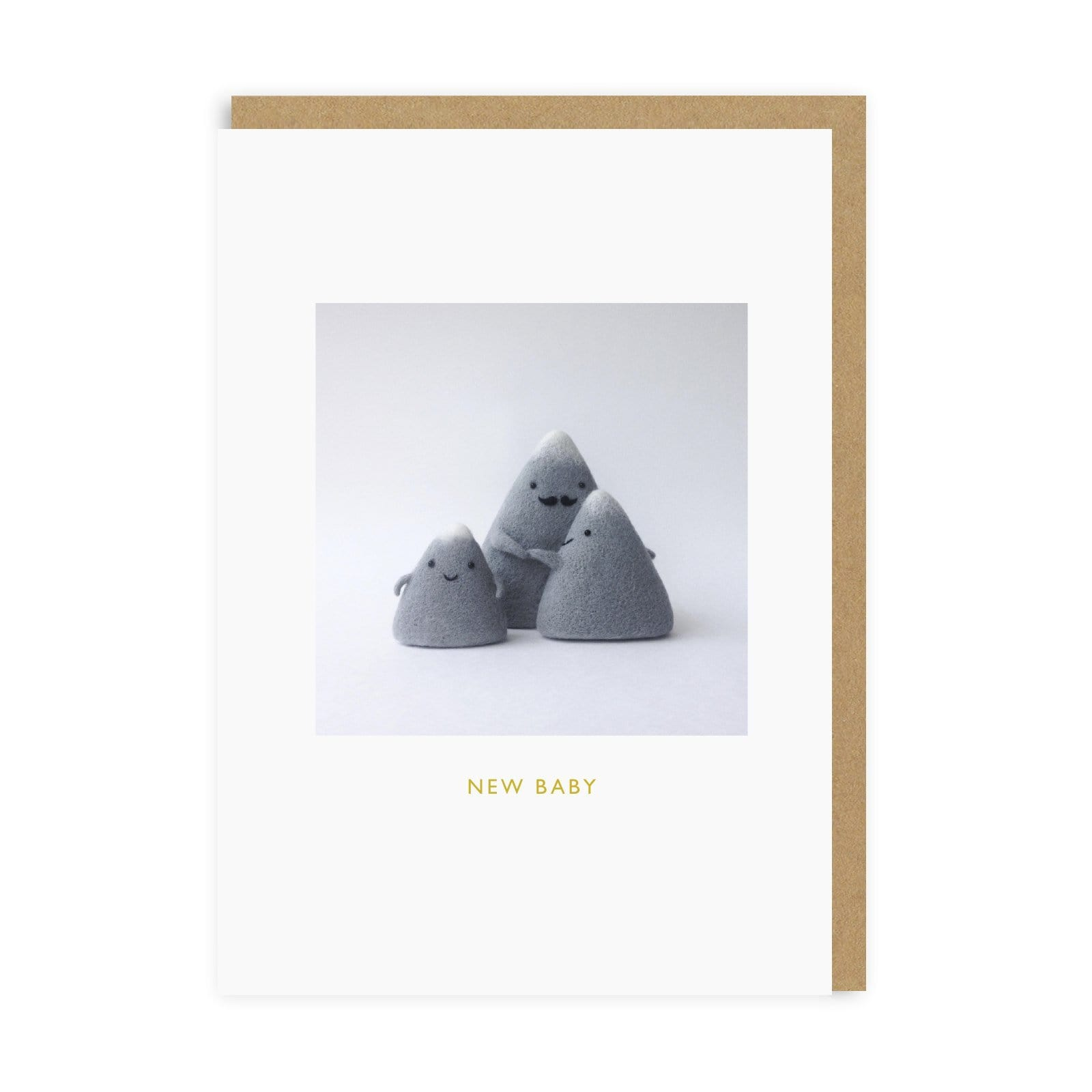 New Baby Mountains Greeting Card