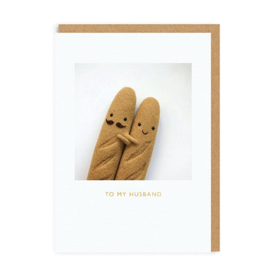 To My Husband Greeting Card