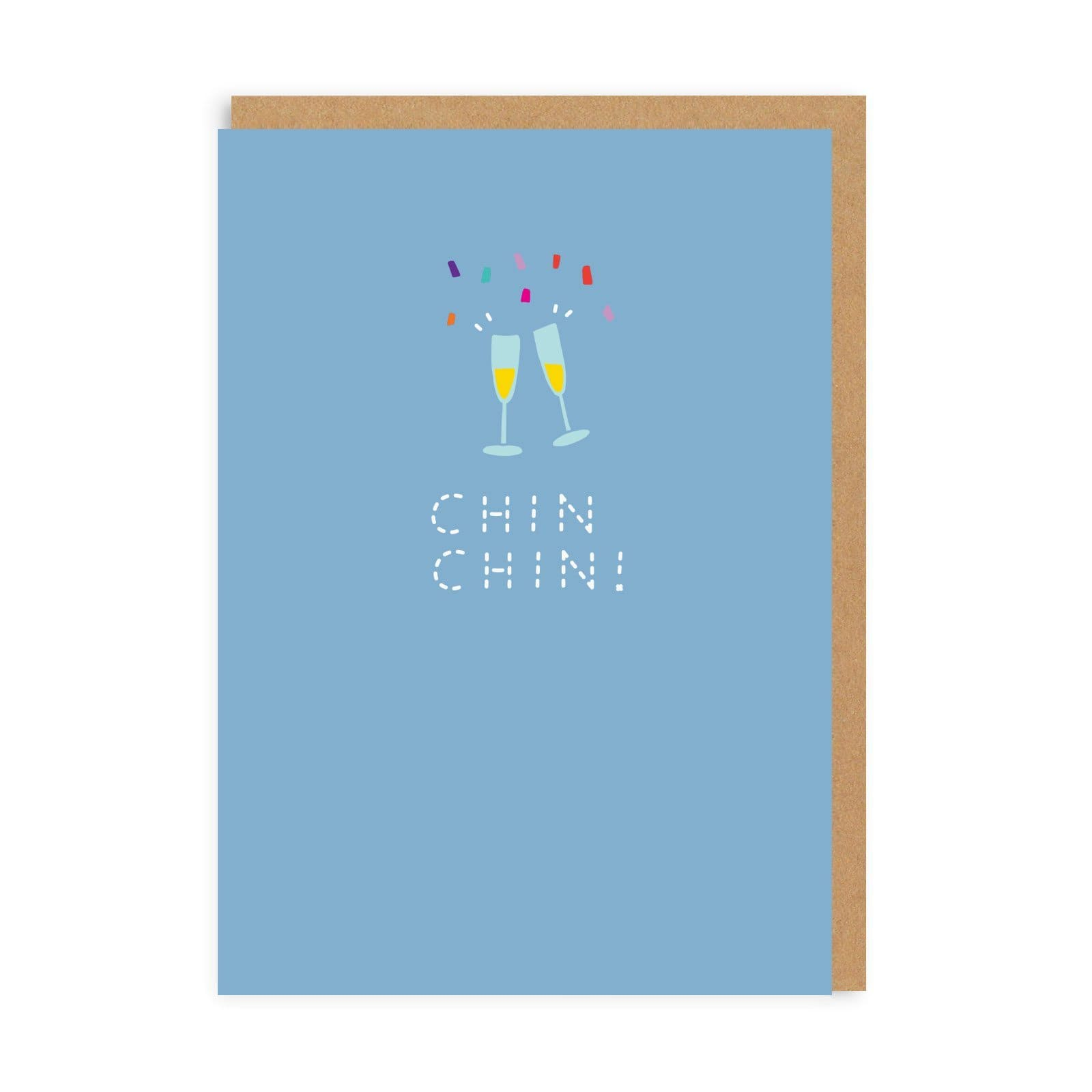 Chin Chin! Greeting Card