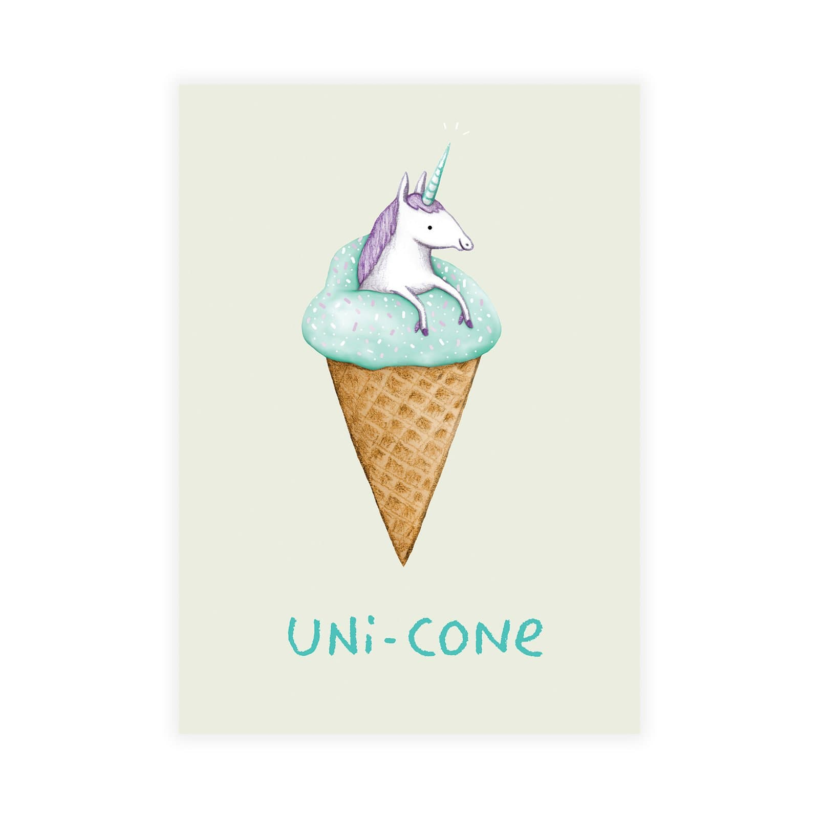 Unicone Postcard
