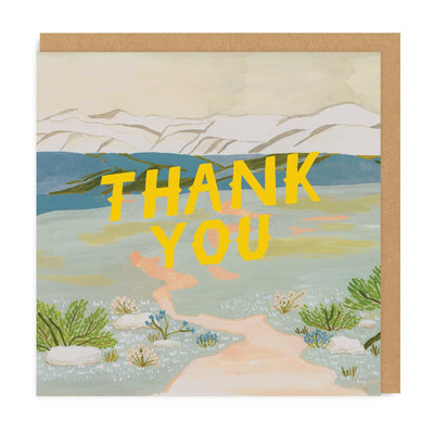 Thank You Tundra Square Greeting Card