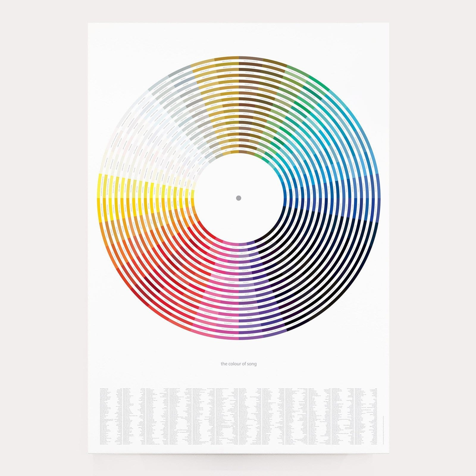 Colour of Song Art Print
