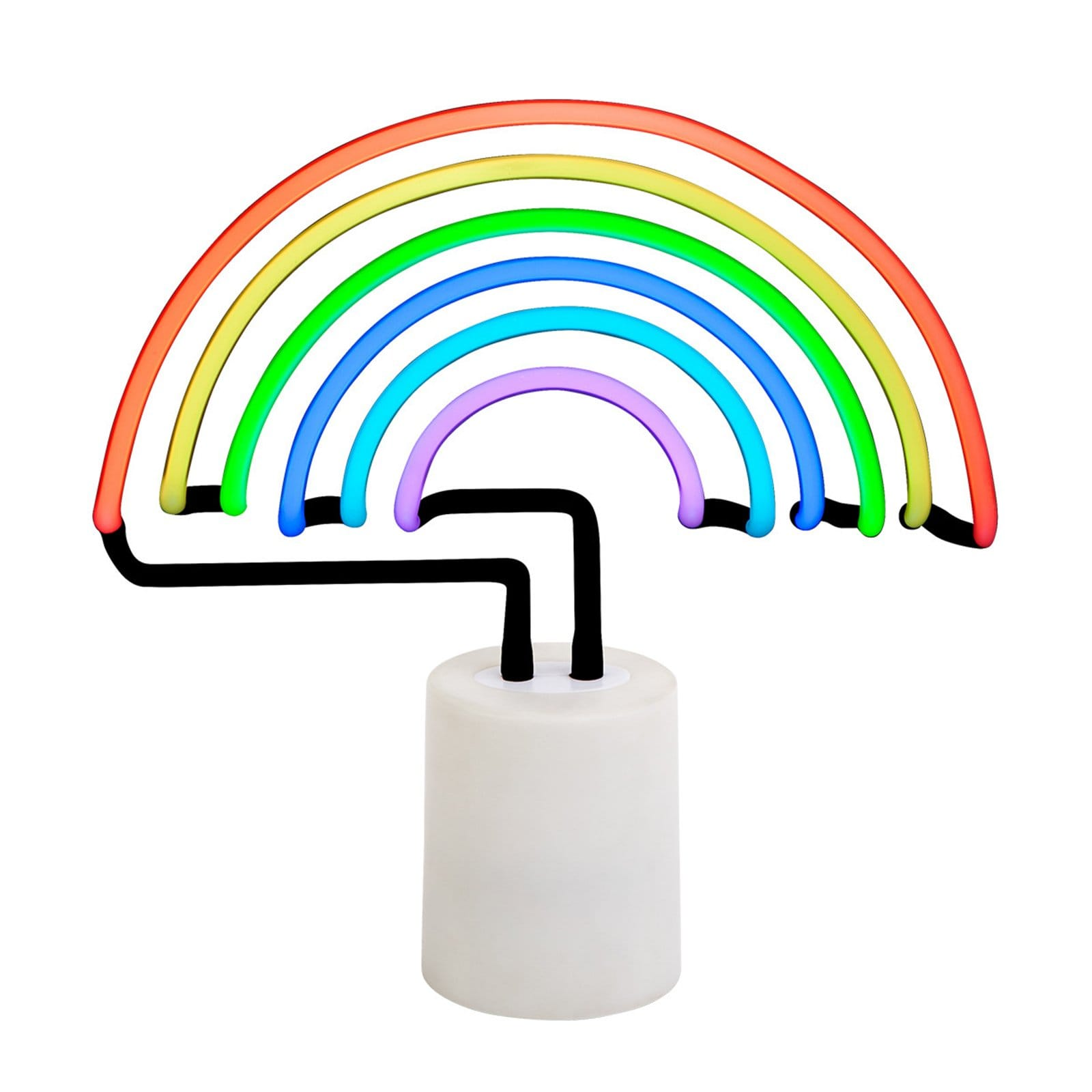 Large Rainbow Neon Light