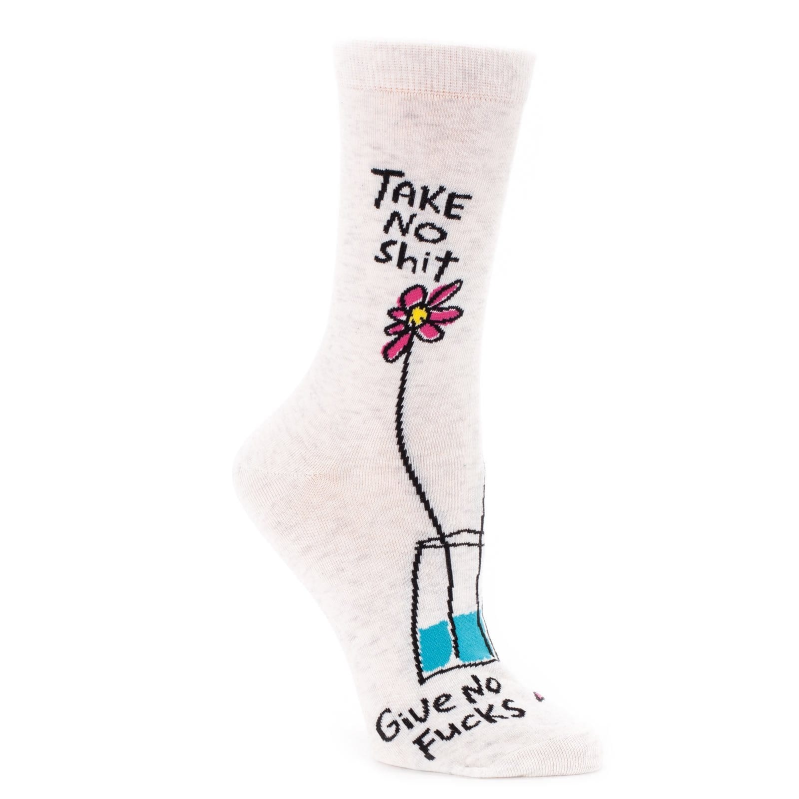 Take No Shit Womens Socks