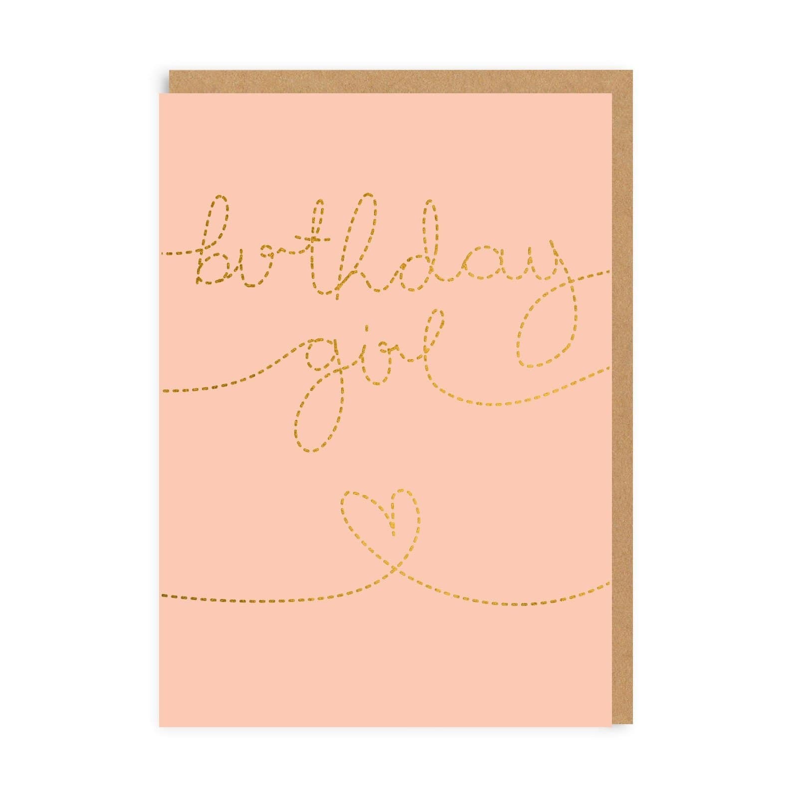 Birthday Girl Greeting Card