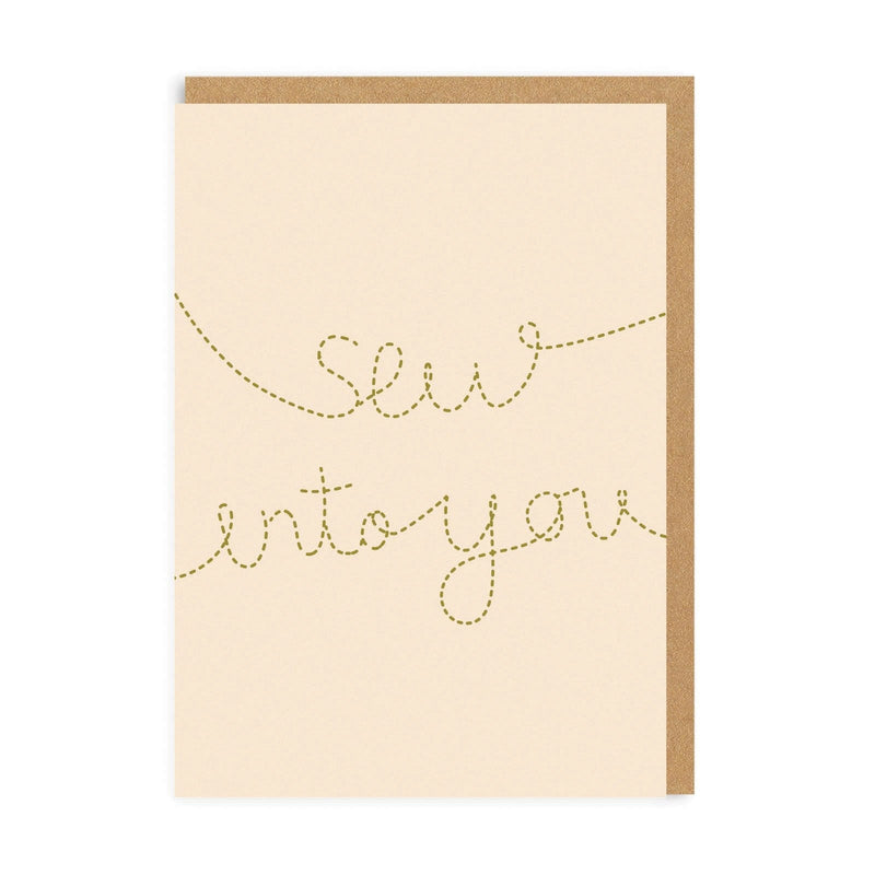 Sew Into You Greeting Card