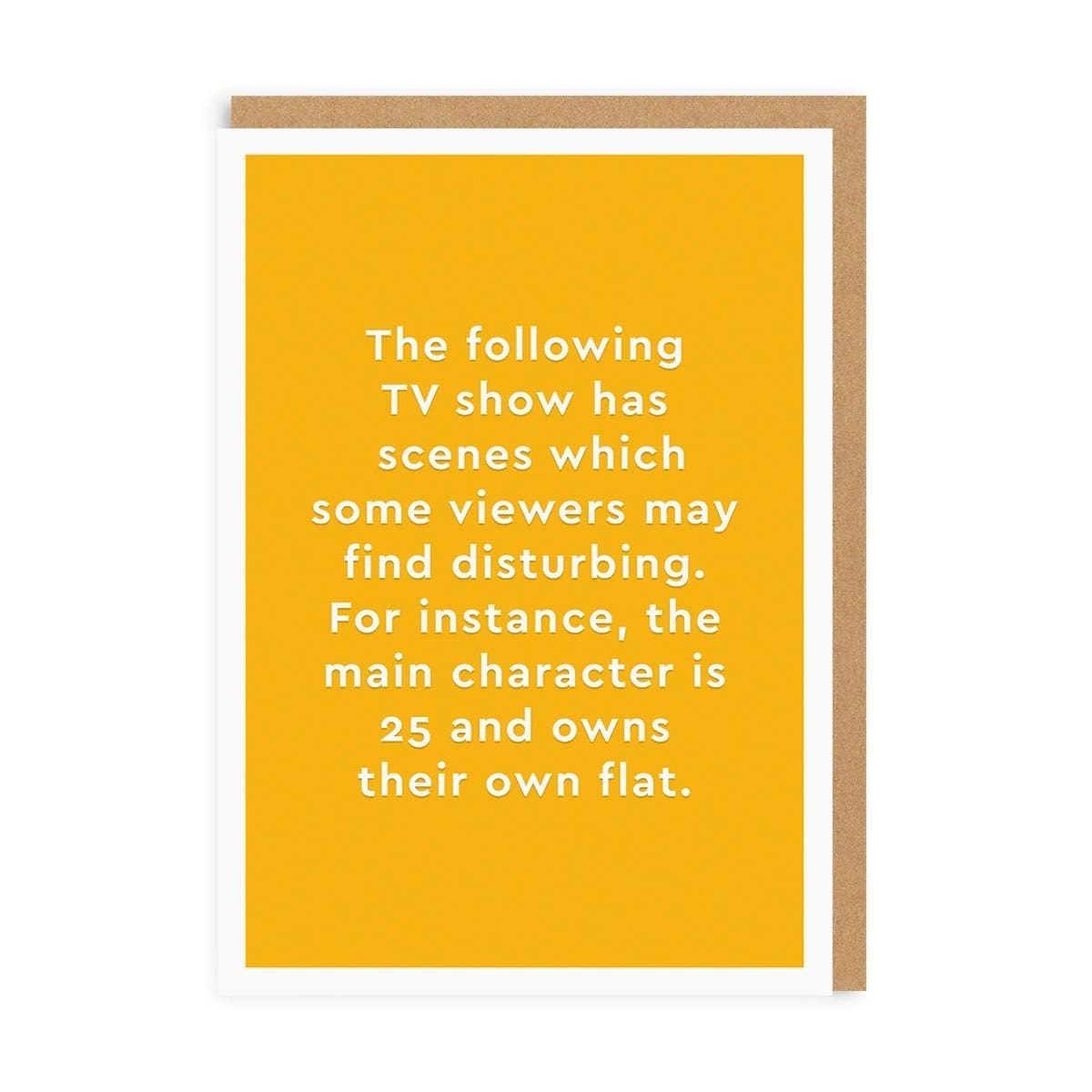 TV Show Greeting Card