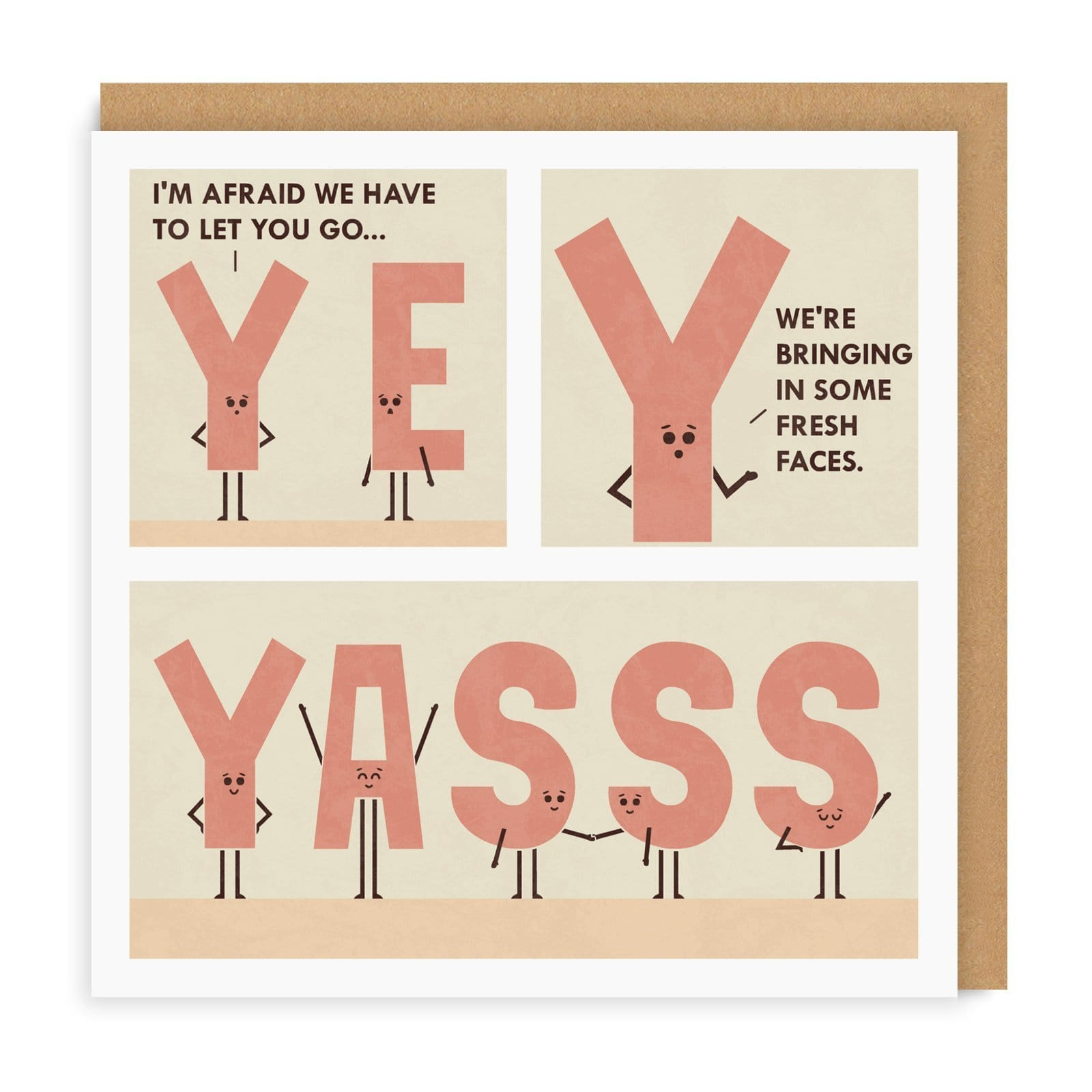 YASSS Square Greeting Card