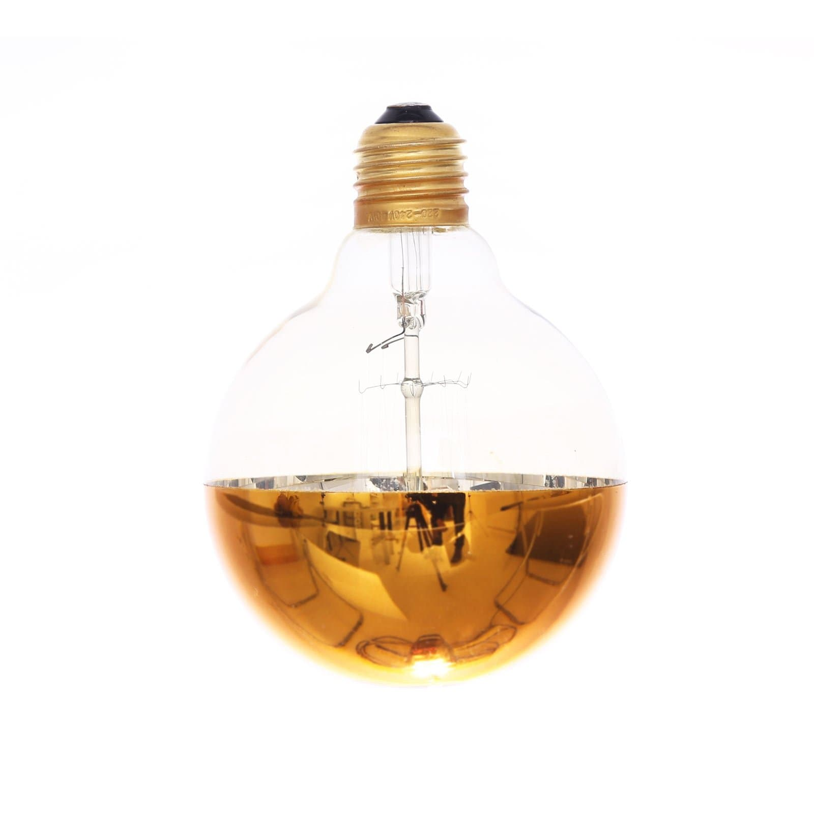 Gold Round Bulb
