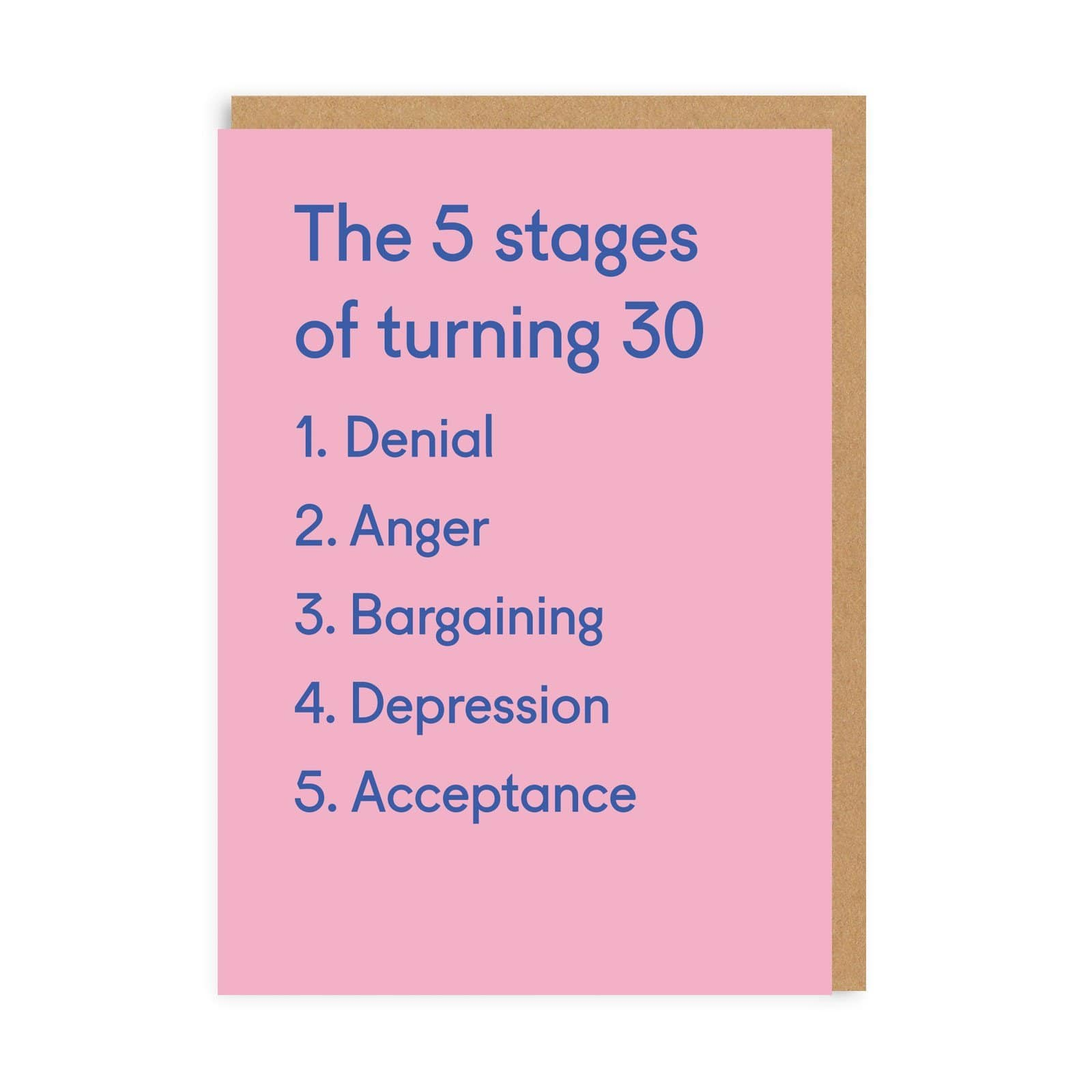 Turning 30 Greeting Card