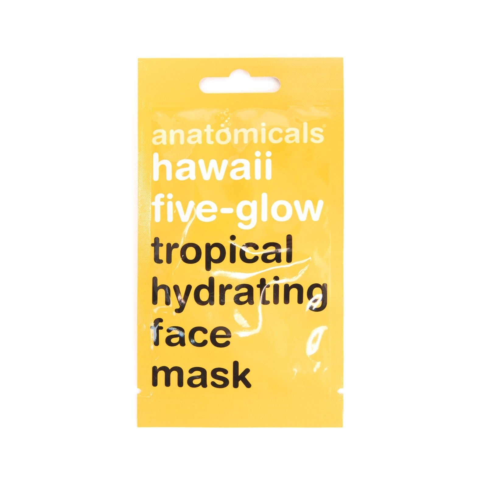 Hawaii Five-Glow Face Mask