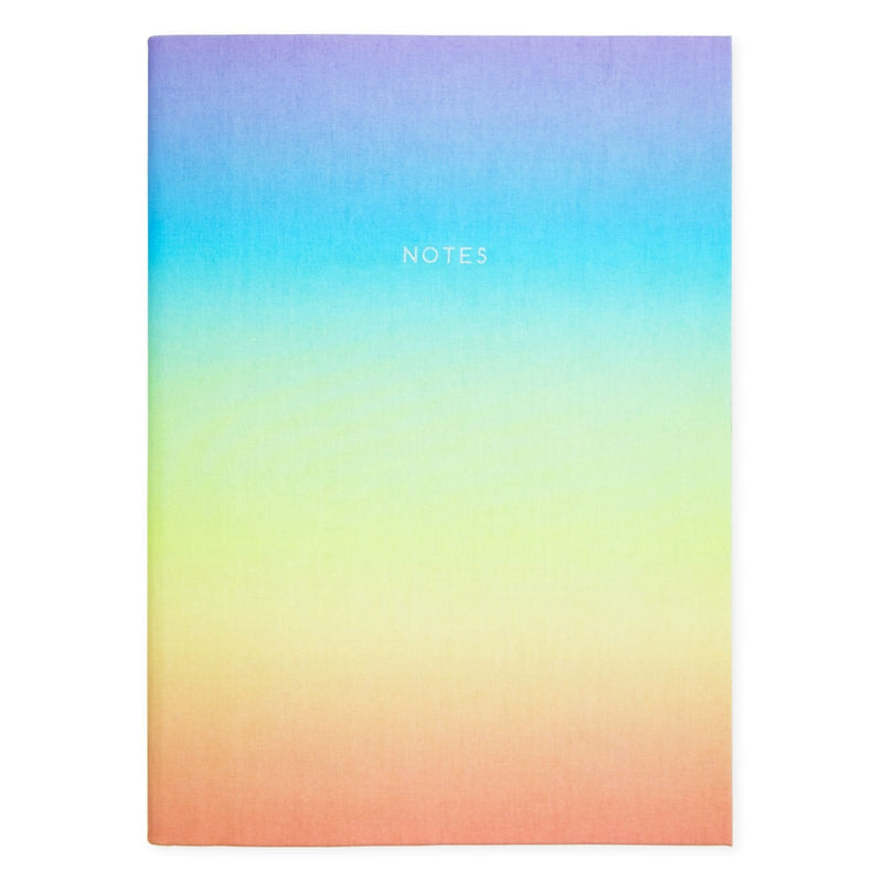 Urban Outfitters x Ohh Deer Rainbow Ombre Notebook