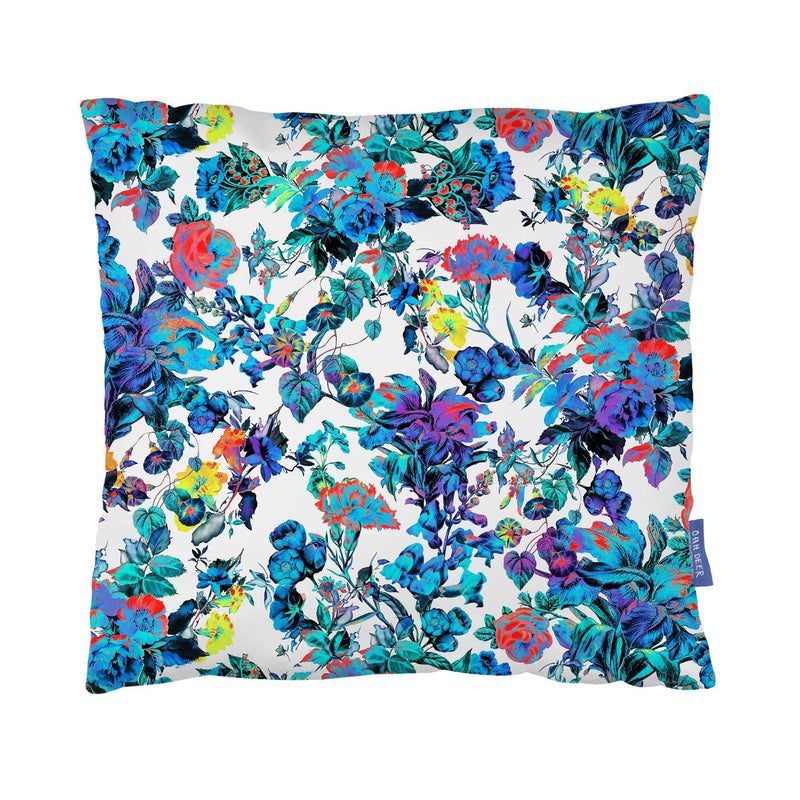 Contemporary Floral Cushion