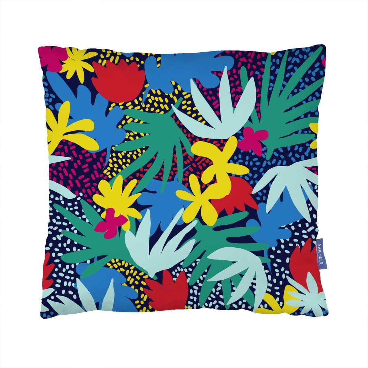 Jungle Flowers Cushion