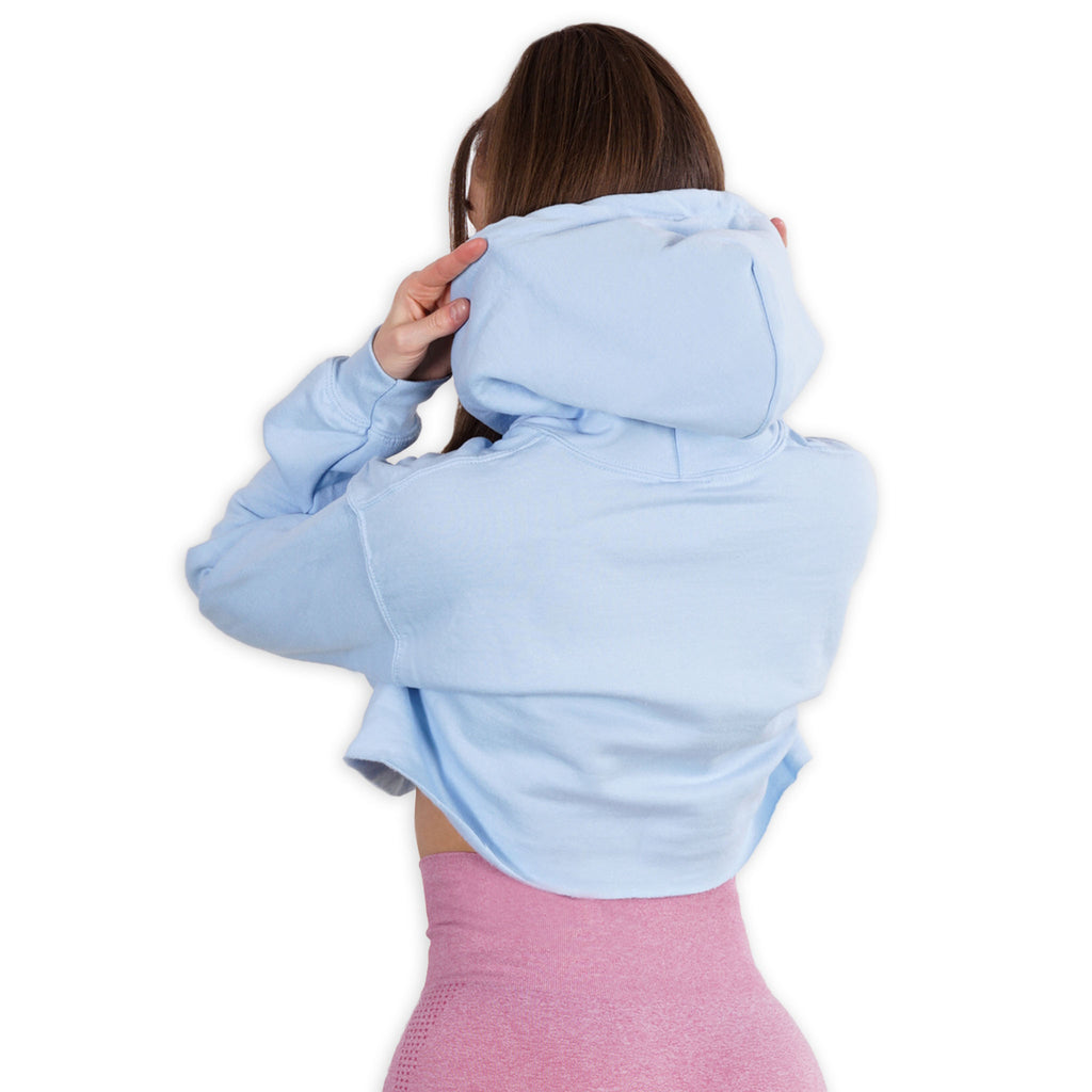 Cropped -  Yummy - Light Blue Lohilo hoodie