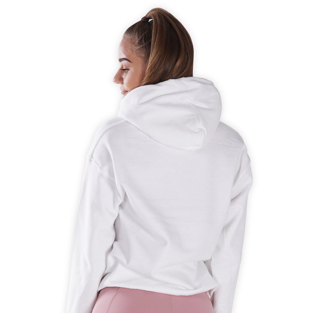 I Woke Up Like This - White Lohilo hoodie - Lohilo