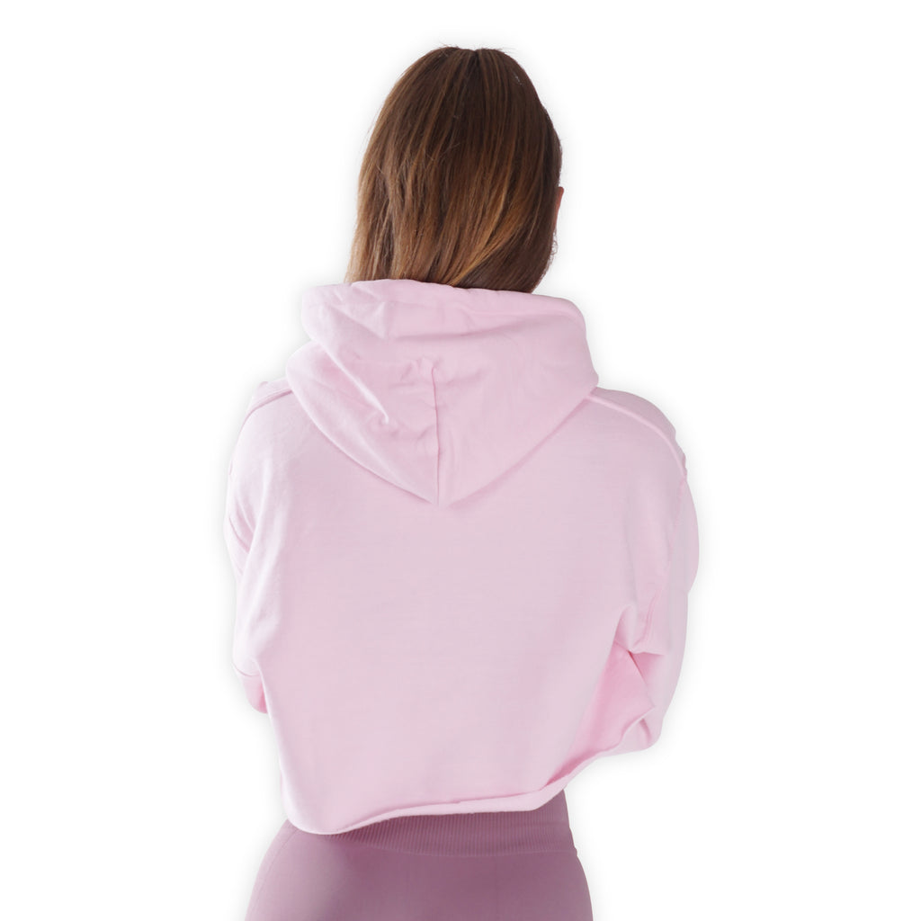 Cropped - My I Love Ice Cream Hoodie - Pink Lohilo hoodie - Lohilo