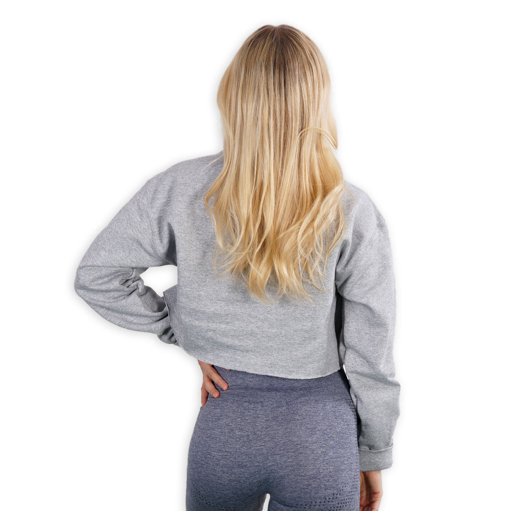 Cropped- FIT AF - Gray Lohilo Crew Neck