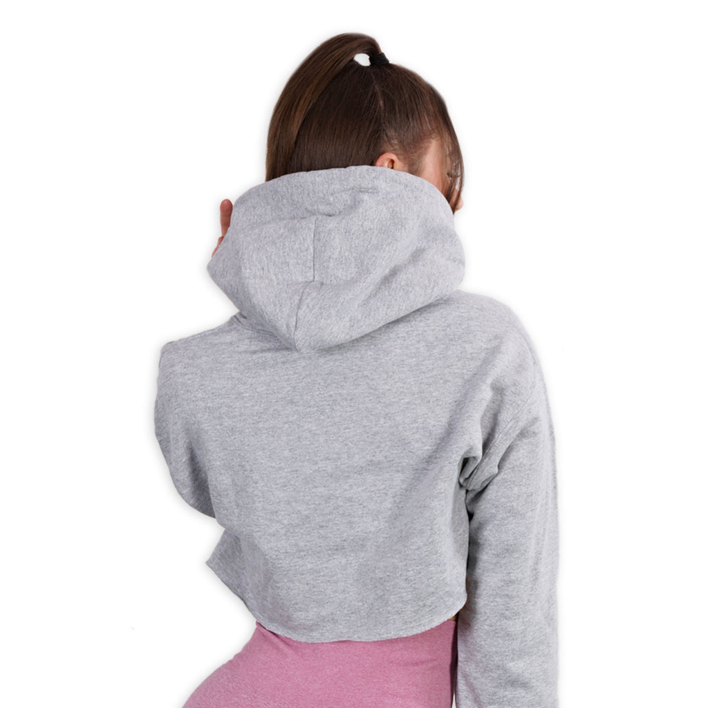 Cropped - Gym Lohilo Netflix Repeat - Gray Lohilo Hoodie