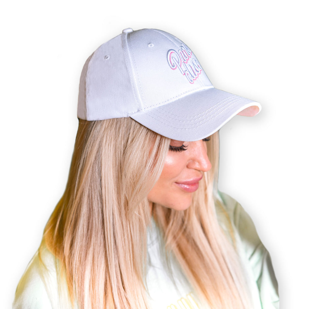 LOHILO Paradise White Sports Cap