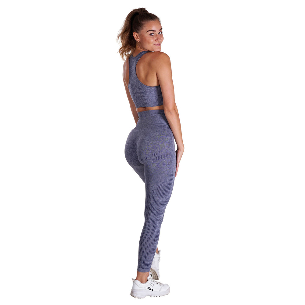 Fitness Motivation - Gray Lohilo Leggings - Lohilo