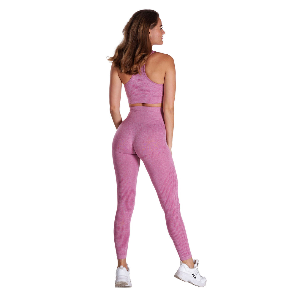 Fitness Motivation - Pink Lohilo Leggings - Lohilo