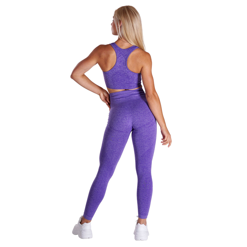 Fitness Motivation - Purple Lohilo Sports Bra - Lohilo