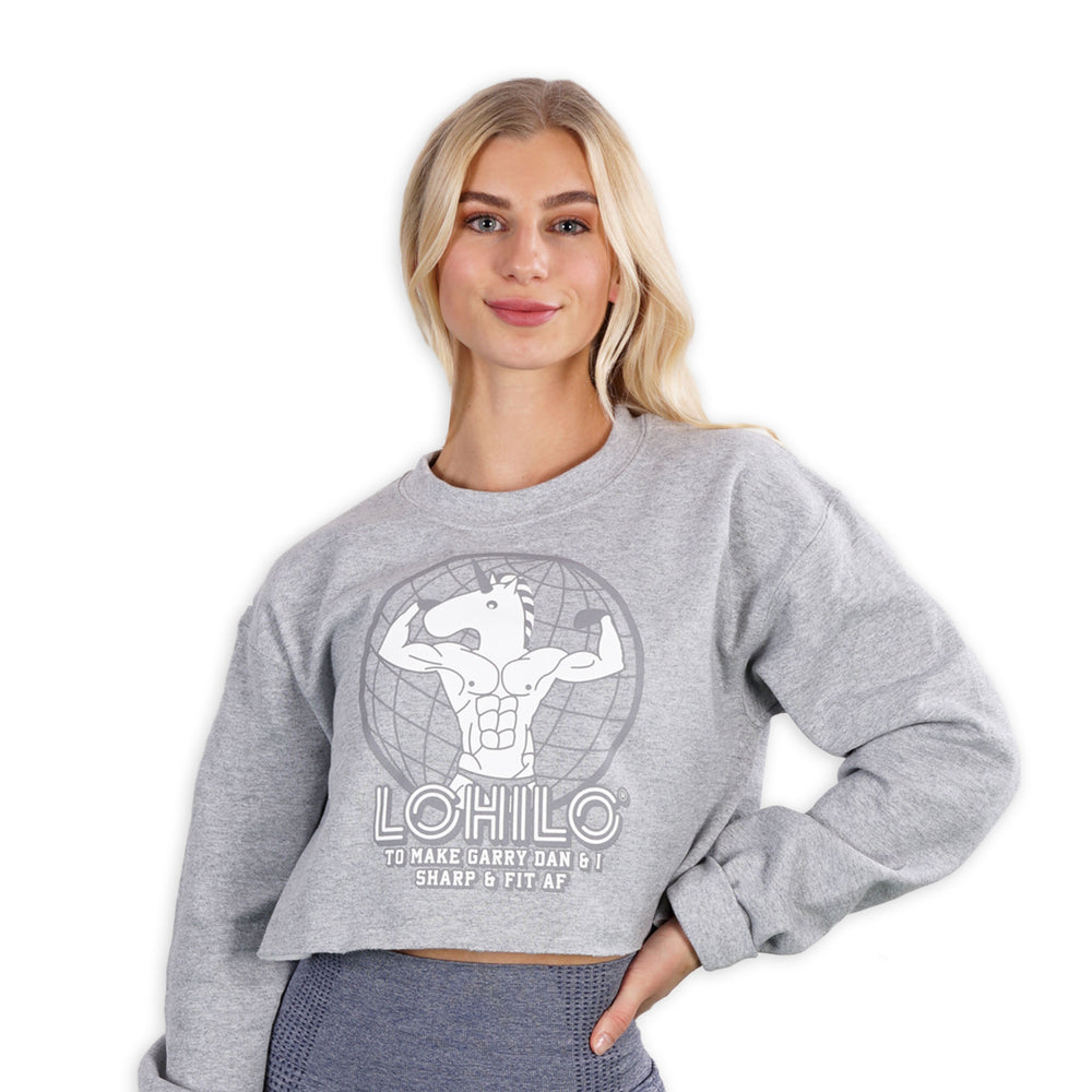 FIT AF- Gray Lohilo Crew Neck