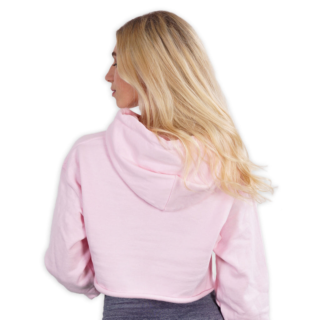 Cropped - Affordable Luxury - Pink Lohilo Hoodie