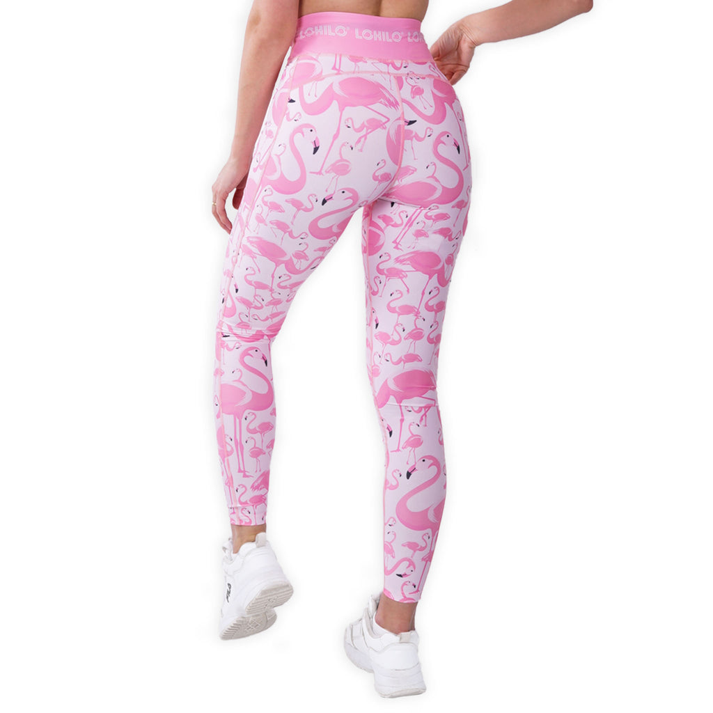LOHILO Flamingo Sublimition Leggings