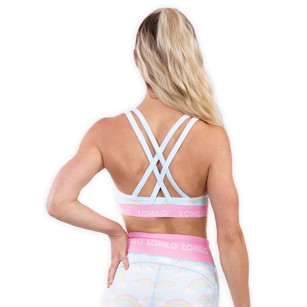 LOHILO Unicorn Sublimition Sports Bra