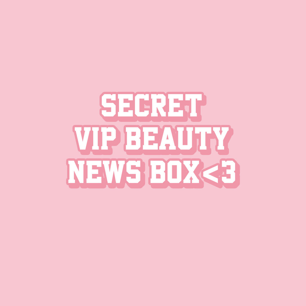 Top Secret Beauty News - Lohilo