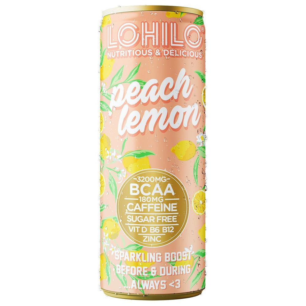 Peach Lemon - Functional BCAA drink - Lohilo