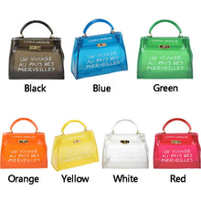 Load image into Gallery viewer, Women Transparent Candy Jelly Shoulder Bag