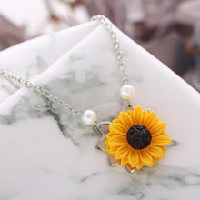 Load image into Gallery viewer, Helianthus™ - Sunflower Pendant Necklace