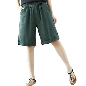 Casual Bermuda Walking Shorts with Pockets