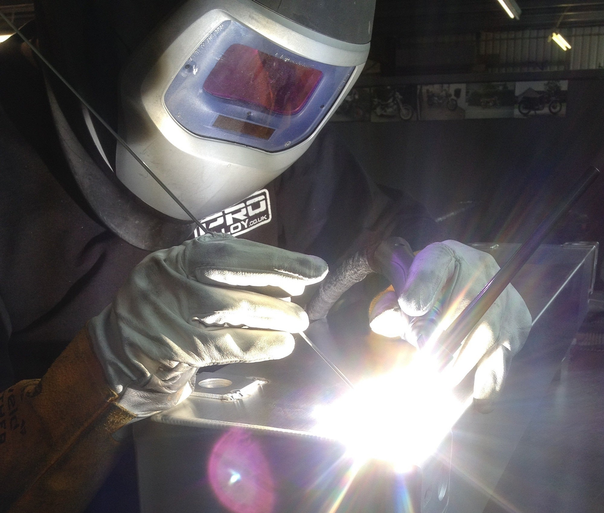 Blog 1 - Fabrication Techniques and TIG Welding.