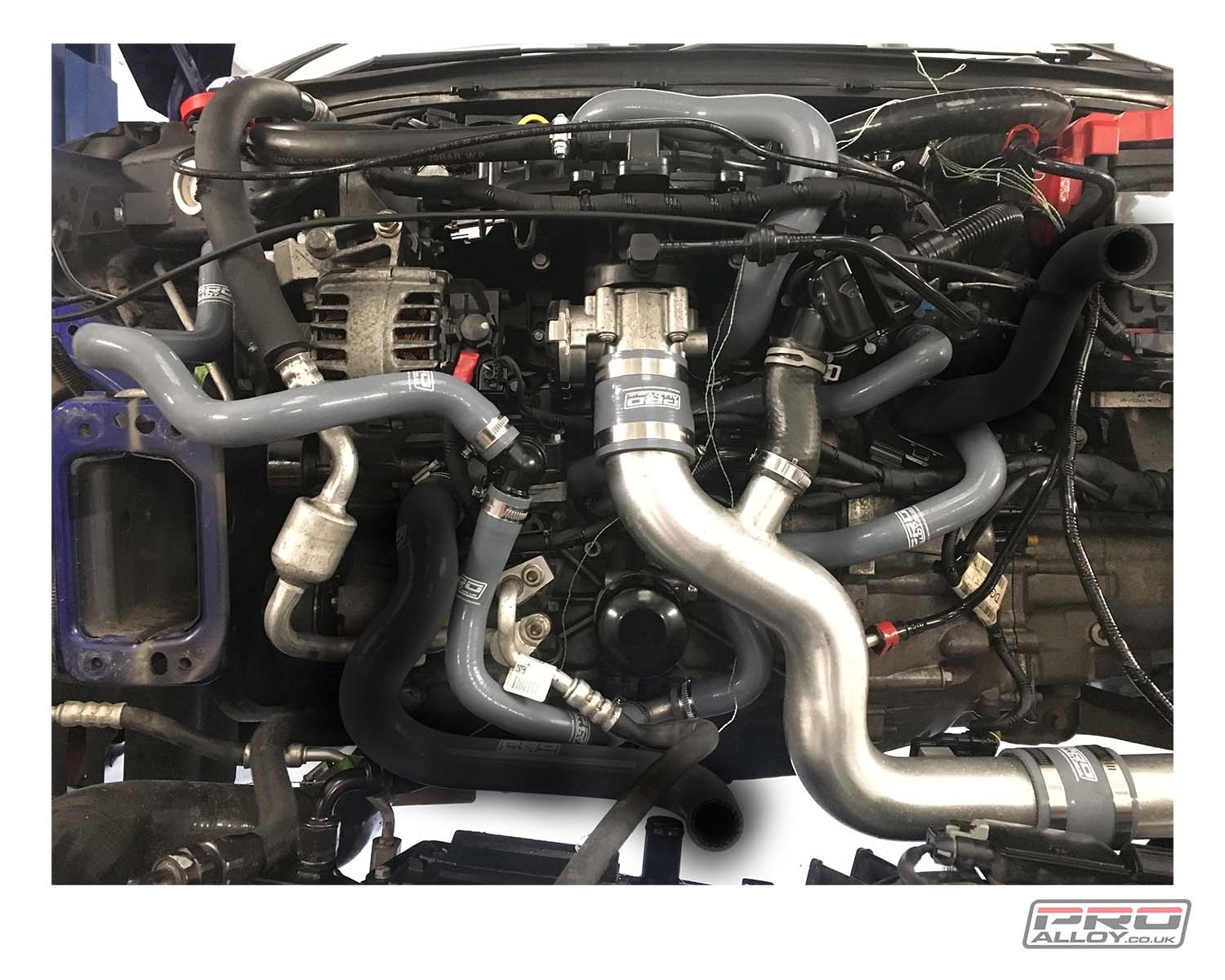 Ford Fiesta ST180 EcoBoost Silicon Ancillary Hose Set