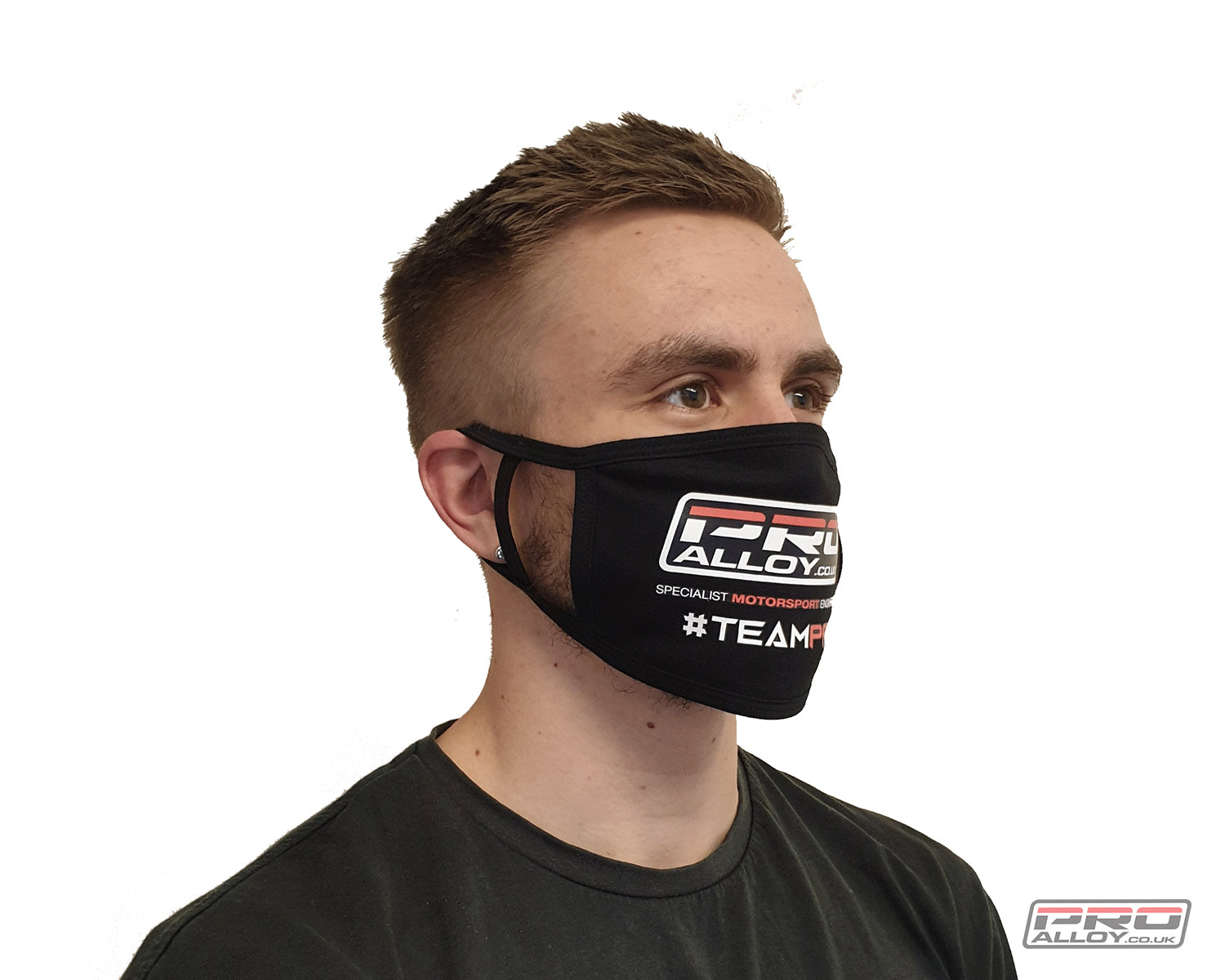Pro Alloy Branded 'TEAMPRO' Face Mask