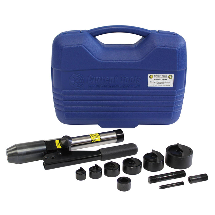 "170 PM (1/2""– 2"") Straight Hydraulic Punch Driver Set"