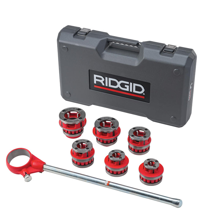 12-R Exposed Ratchet Threader Set