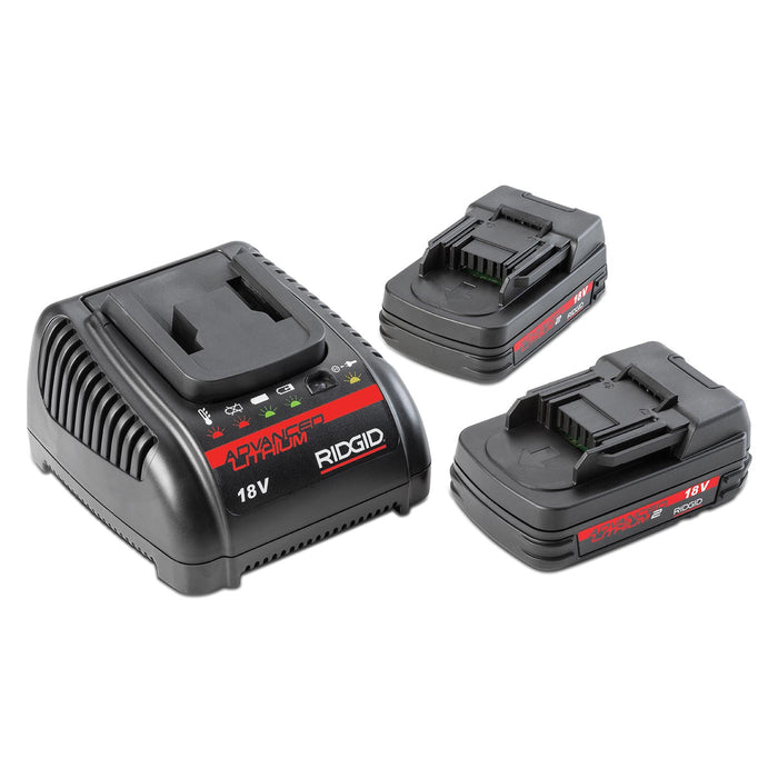 RIDGID 18v Batteries and Charger