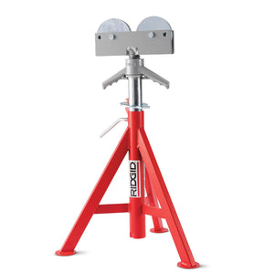 Roller Head Pipe Stand (Low)